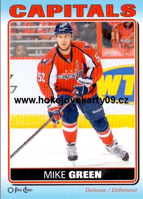 2012-13 OPC Stickers - Mike GREEN č. S-96