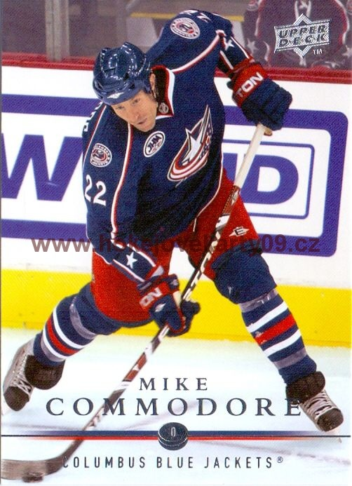 2008-09 Upper Deck - Mike COMMODORE č. 309