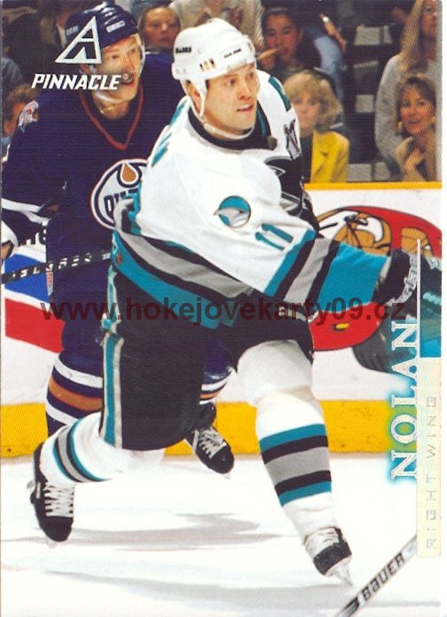 1997-98 Pinnacle - Owen NOLAN č. 49
