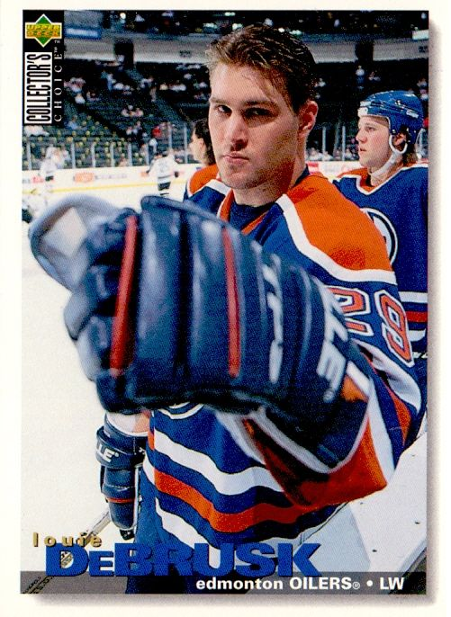 1995-96 Collectors - Louie DeBRUSK č. 87