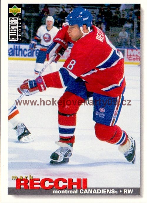 1995-96 Collectors - Mark RECCHI č. 108