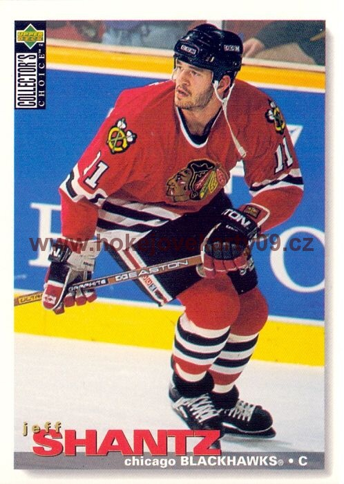 1995-96 Collectors - Jeff SHANTZ č. 124