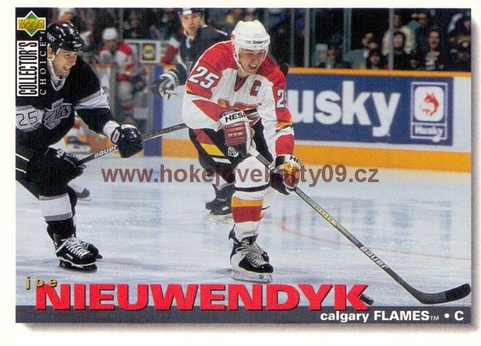1995-96 Collectors - Joe NIEUWENDYK č. 133
