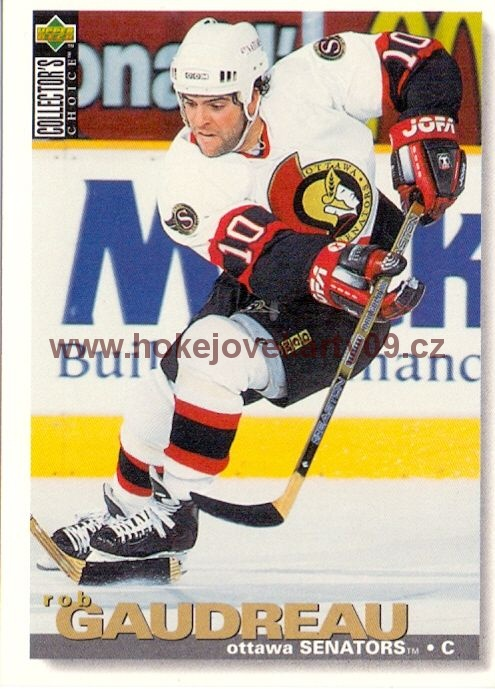 1995-96 Collectors - Rob GAUDREAU č. 158
