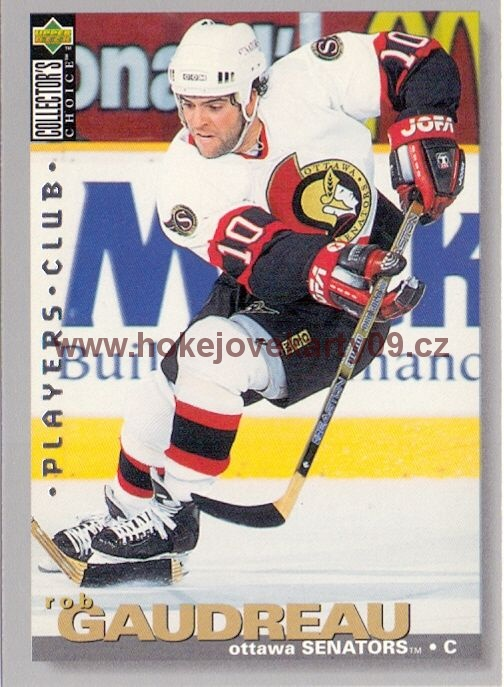 1995-96 Collectors - Rob GAUDREAU č. 158 Players Club
