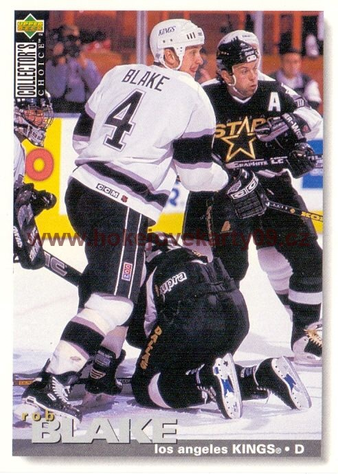 1995-96 Collectors - Rob BLAKE č. 160