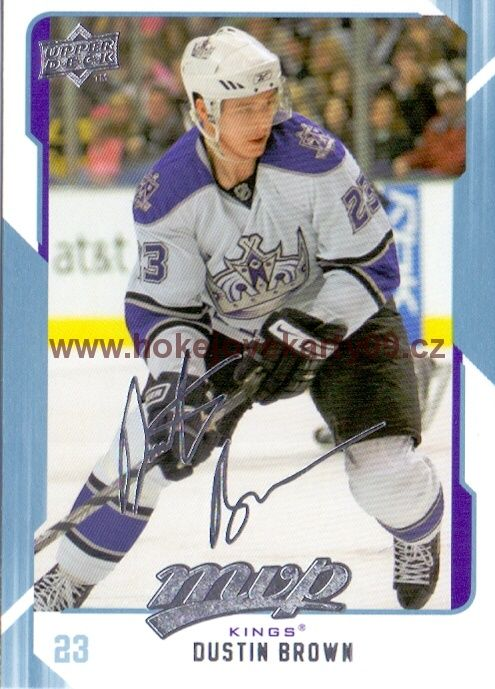 2008-09 MVP - Dustin BROWN č. 137