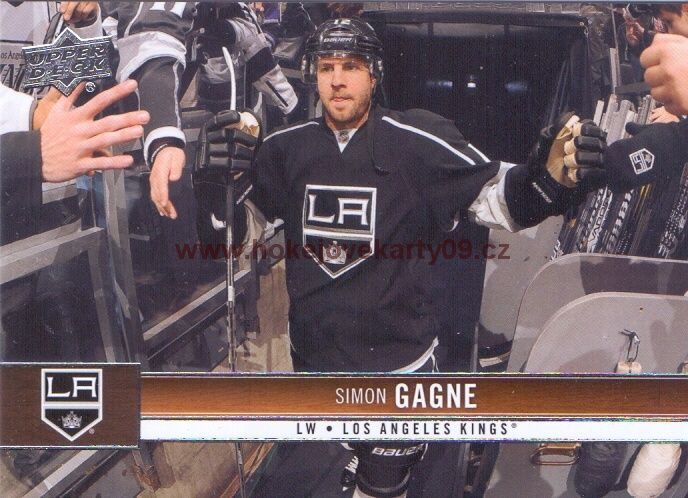 2012-13 Upper Deck - Simon GAGNE č. 81