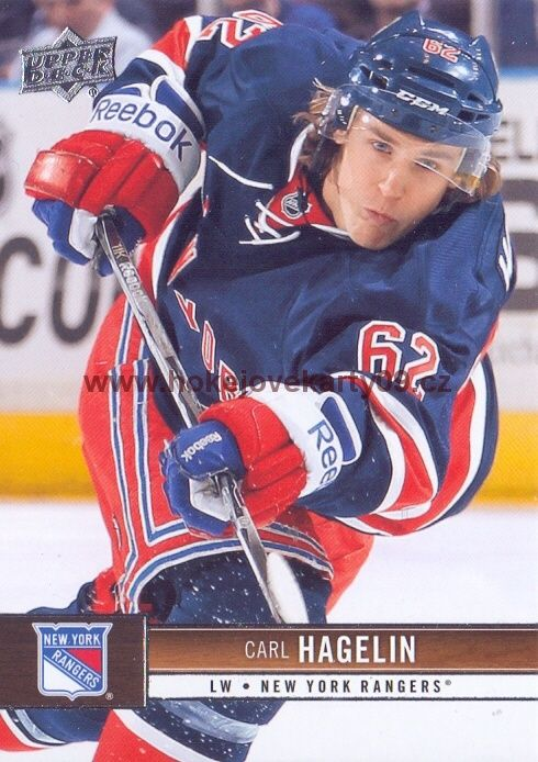2012-13 Upper Deck - Carl HAGELIN č. 118