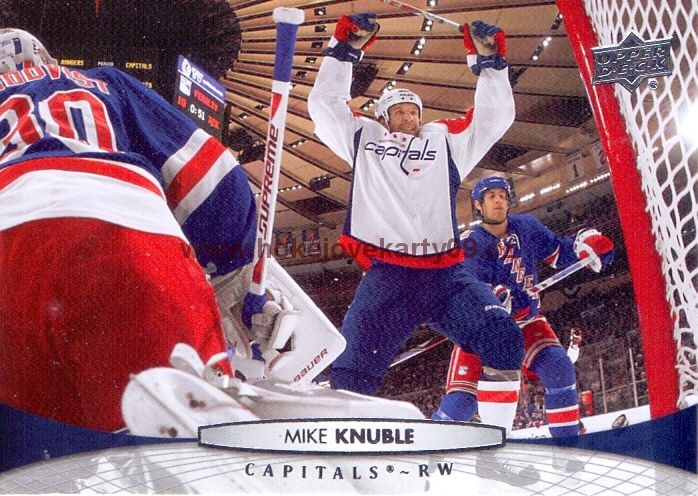 2011-12 Upper Deck - Mike KNUBLE č. 9