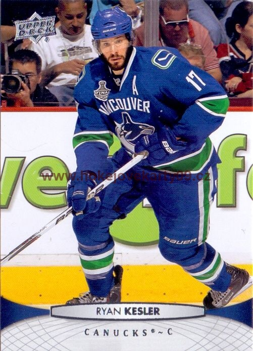 2011-12 Upper Deck - Ryan KESLER č. 16