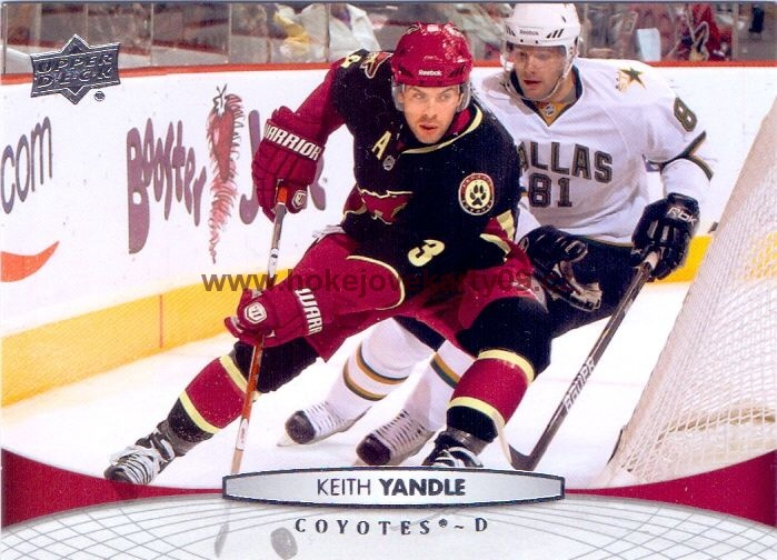2011-12 Upper Deck - Keith YANDLE č. 54
