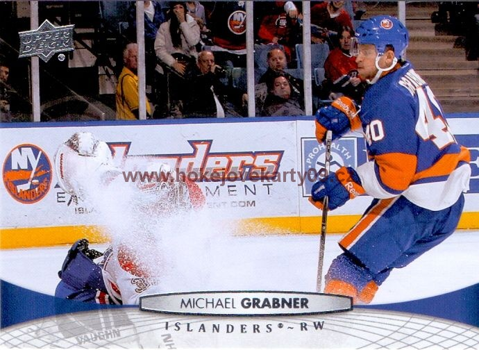 2011-12 Upper Deck - Michael GRABNER č. 81