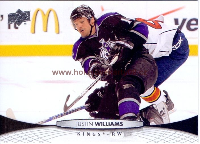 2011-12 Upper Deck - Justin WILLIAMS č. 117