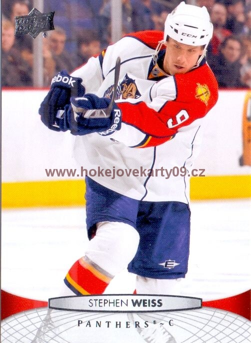 2011-12 Upper Deck - Stephen WEISS č. 121