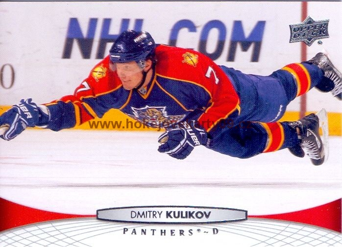 2011-12 Upper Deck - Dmitry KULIKOV č. 124