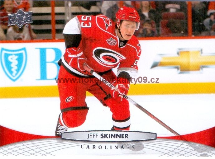 2011-12 Upper Deck - Jeff SKINNER č. 167