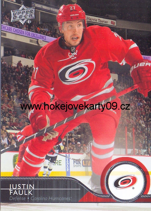2014-15 Upper Deck - Justin FAULK č. 34