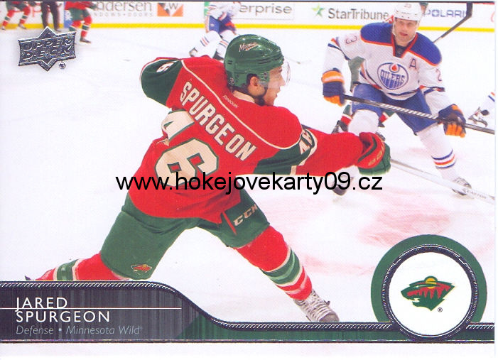 2014-15 Upper Deck - Jared SPURGEON č. 98