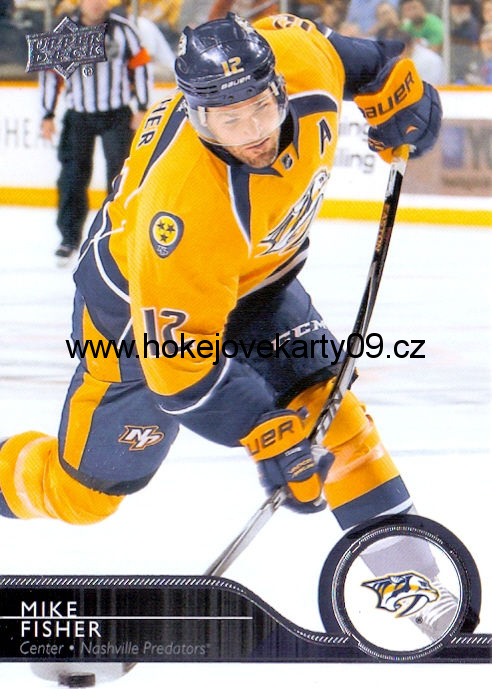 2014-15 Upper Deck - Mike FISHER č. 109