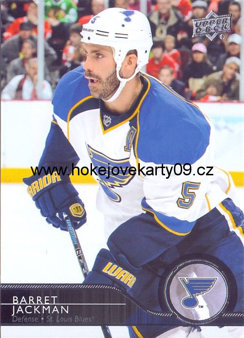 2014-15 Upper Deck - Barret JACKMAN č. 167