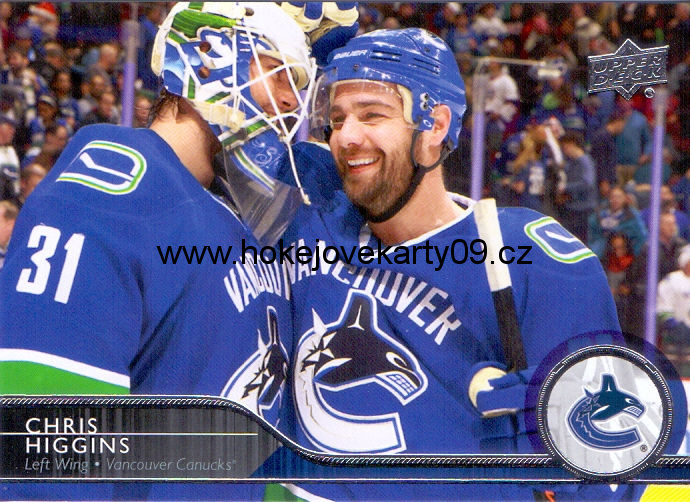 2014-15 Upper Deck - Chris HIGGINS č. 184