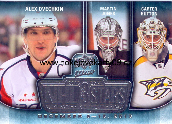 2014-15 MVP - A. OVECHKIN, M. JONES, C. HUTTON č. 3SW-12.16.13
