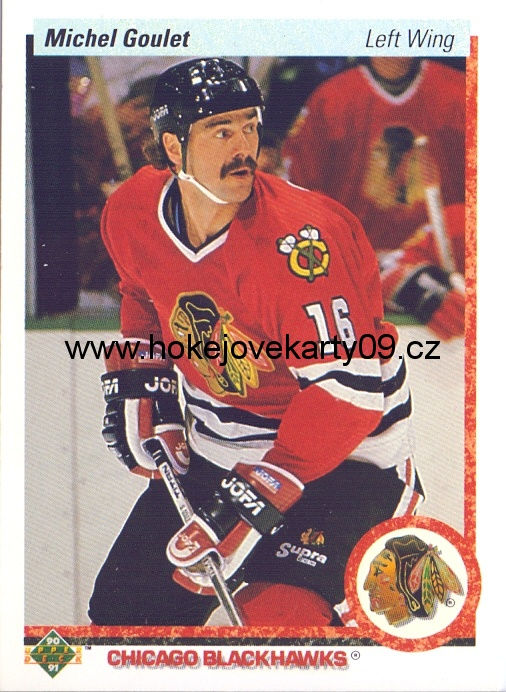 1990-91 Upper Deck - Michel GOULET č. 133