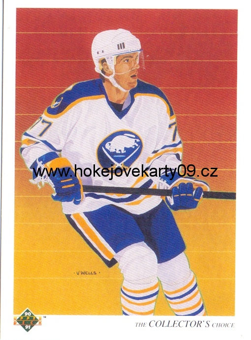 1990-91 Upper Deck - Pierre TURGEON č. 318