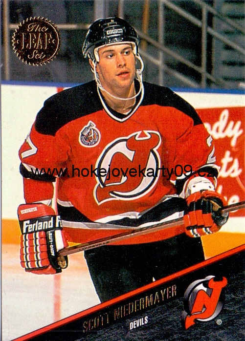 1993-94 Leaf - Scott NIEDERMAYER č. 80