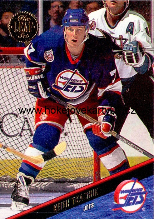 1993-94 Leaf - Keith TKACHUK č. 105