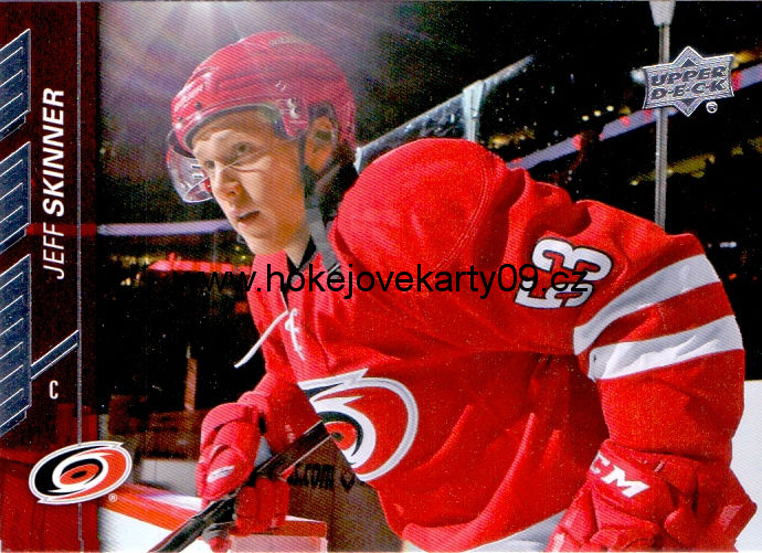2015-16 Upper Deck - Jeff SKINNER č. 35
