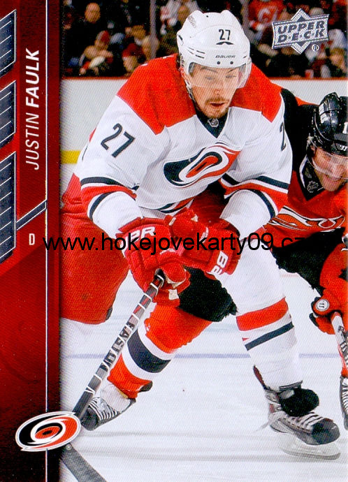 2015-16 Upper Deck - Justin FAULK č. 36