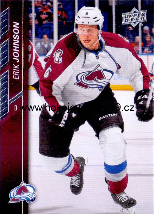 2015-16 Upper Deck - Erik JOHNSON č. 46