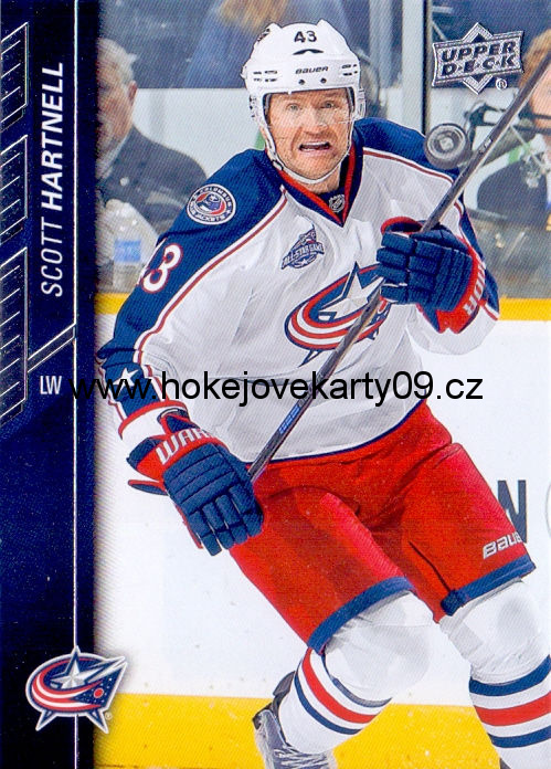 2015-16 Upper Deck - Scott HARTNELL č. 55