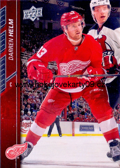 2015-16 Upper Deck - Darren HELM č. 64