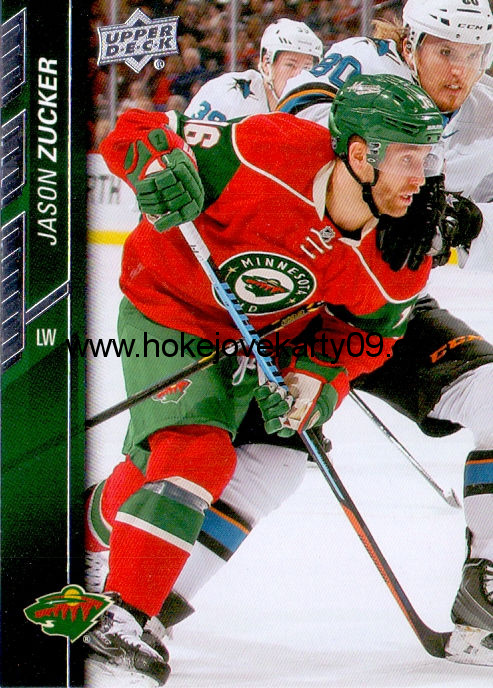 2015-16 Upper Deck - Jason ZUCKER č. 90