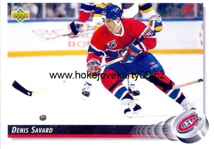 1992-93 Upper Deck - Denis SAVARD č. 162