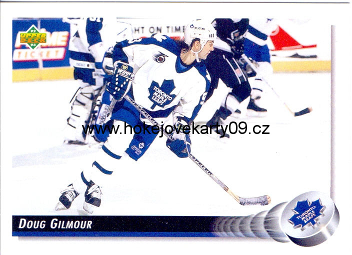 1992-93 Upper Deck - Doug GILMOUR č. 215