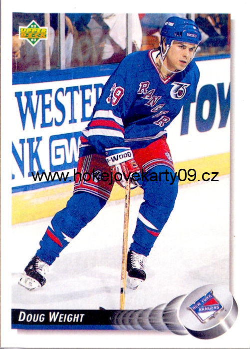 1992-93 Upper Deck - Doug WEIGHT č. 279