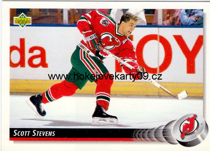 1992-93 Upper Deck - Scott STEVENS č. 297