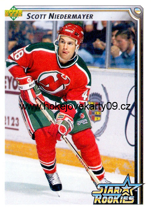 1992-93 Upper Deck - Scott NIEDERMAYER č. 406