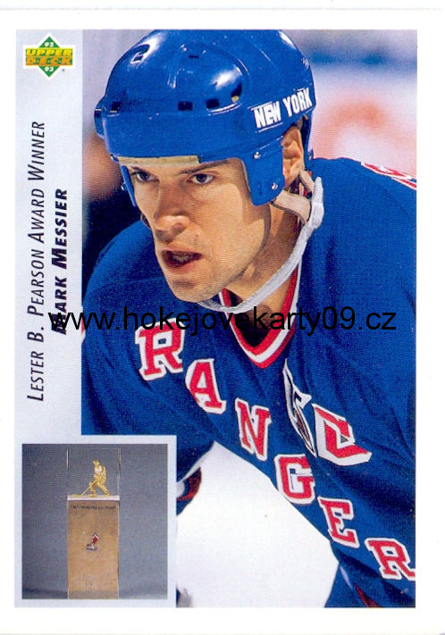 1992-93 Upper Deck - Mark MESSIERS č. 432