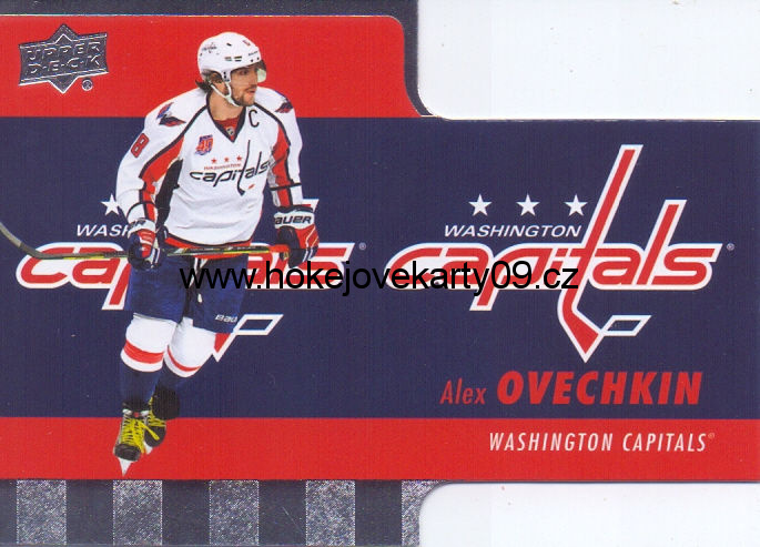 2015-16 Tim Hortons - Alex OVECHKIN č. TH-7 Die Cut
