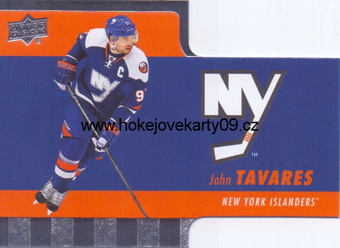 2015-16 Tim Hortons - John TAVARES č. TH-9 Die Cut