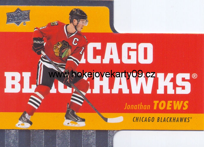 2015-16 Tim Hortons - Jonathan TOEWS č. TH-10 Die Cut