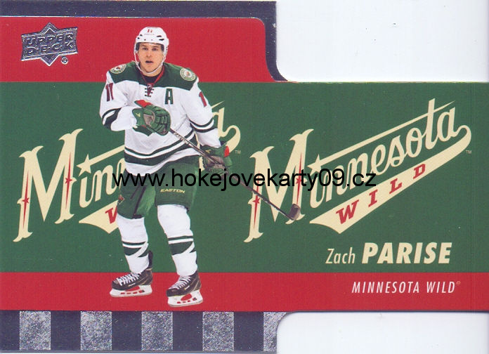2015-16 Tim Hortons - Zach PARISE č. TH-13