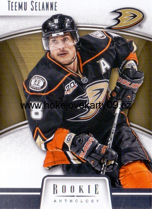 2013-14 Rookie Anthology - Teemu SELANNE č. 4