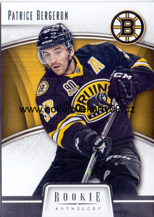 2013-14 Rookie Anthology - Patrice BERGERON č. 5