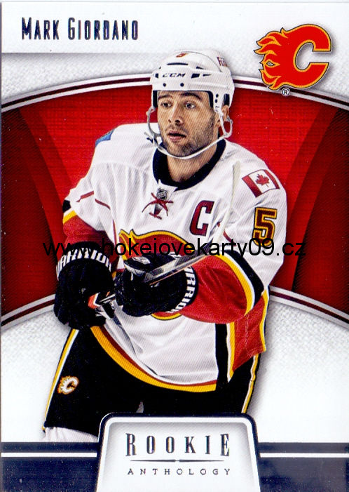 2013-14 Rookie Anthology - Mark GIORDANO č. 13